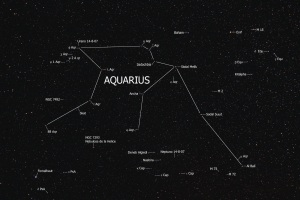 Aquarius in the sky.