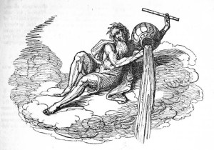 Aquarius may have been derived from the Greek god Poseidon and the Egyptian god Canopus.Canopus was the Egyptian god of water.